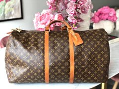 Maleta de viaje Louis Vuitton Keepall 60