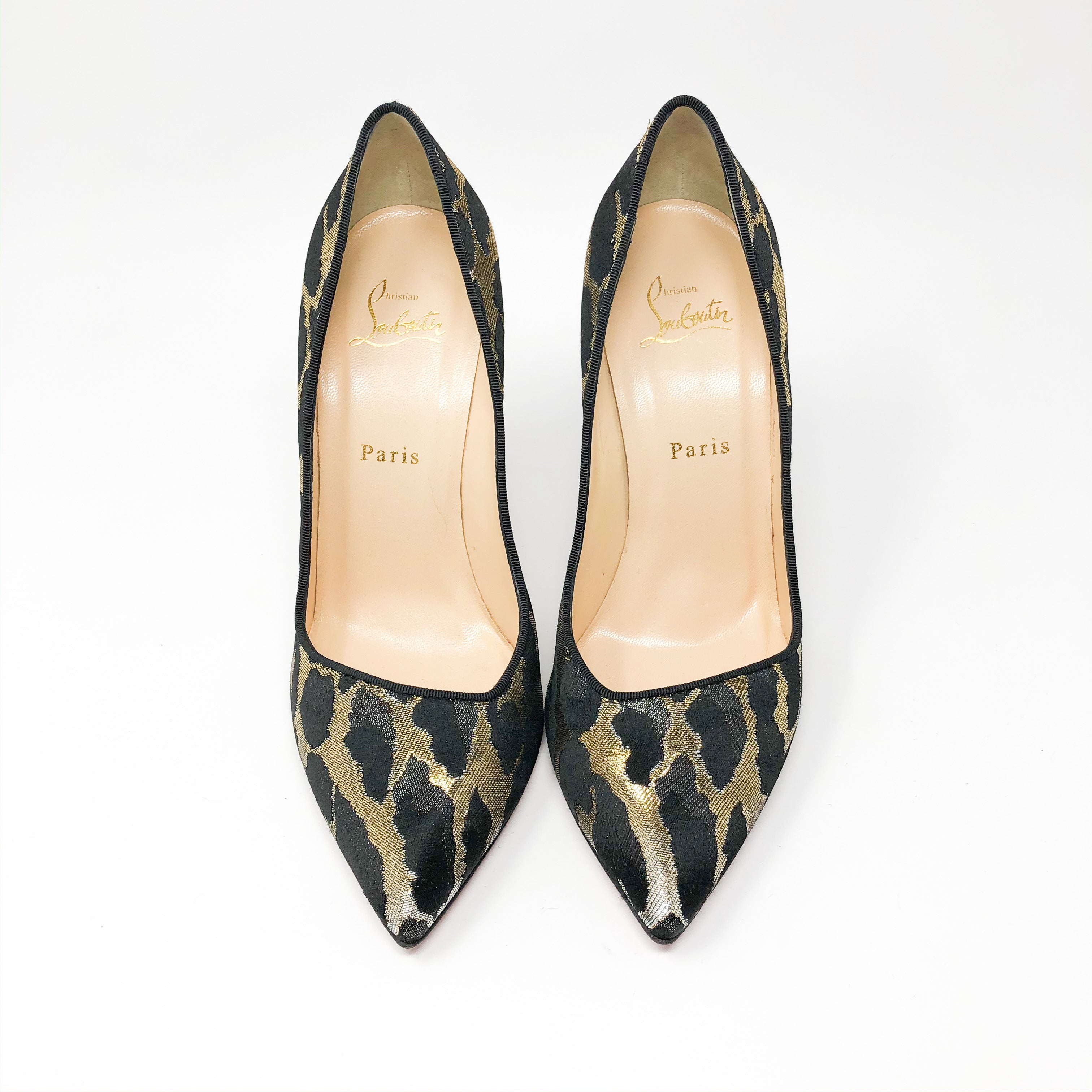 Pumps Christian Louboutin Corneille animal print