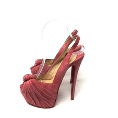 Pumps Christian Louboutin Peep Toe T. 37