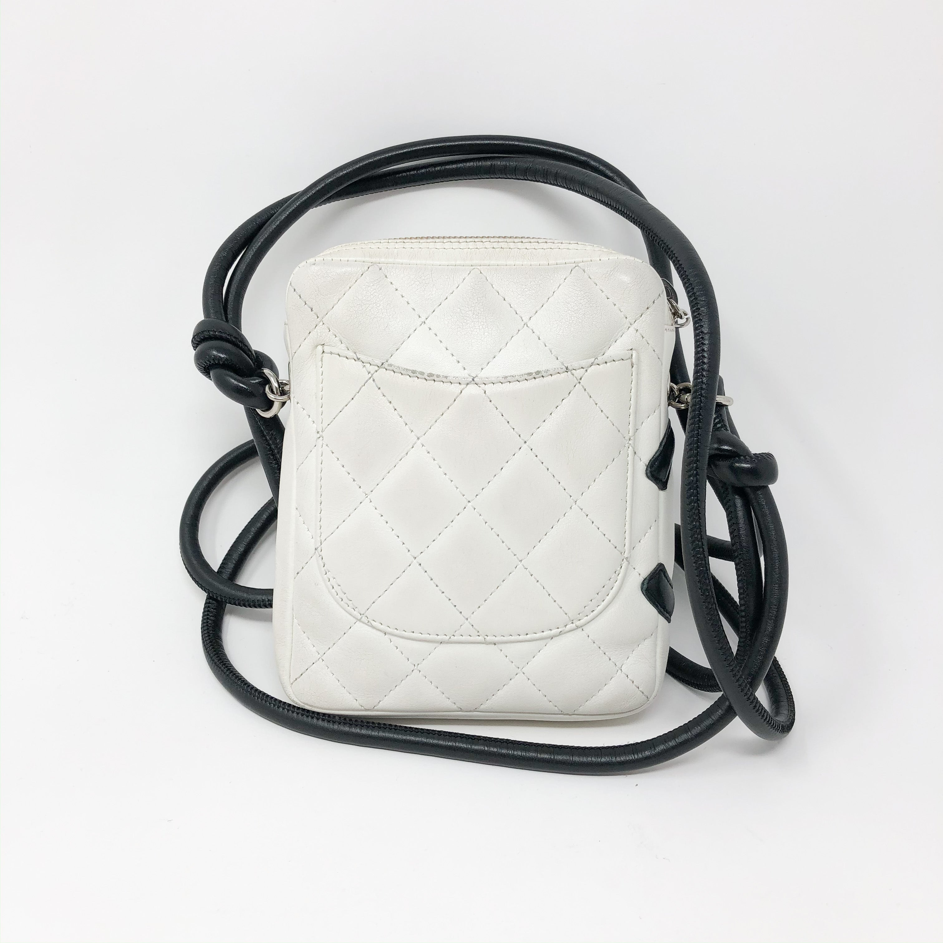Bolsa Chanel Ligne Cambon Messenger Bag Chica