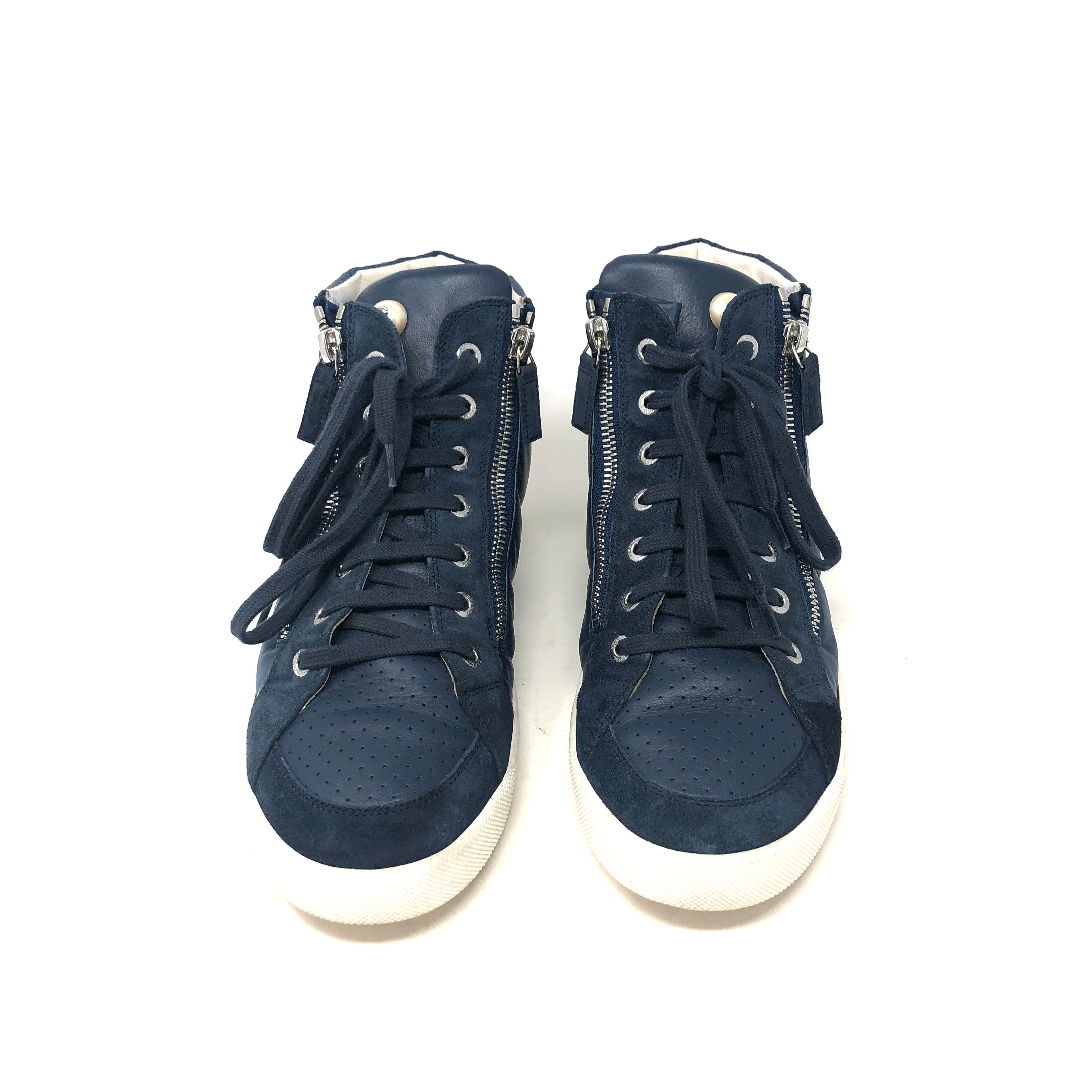 Tenis Chanel High Top T.39.5