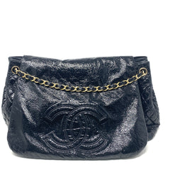 Bolsa Chanel Vinyl Rock and Chain