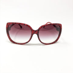 Lentes Chanel Red Gradient 5216C