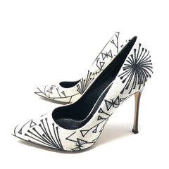 Pumps Sergio Rossi Puntal Bordado