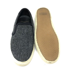 Tenis Saint Laurent Slip On tejidos T.38.5