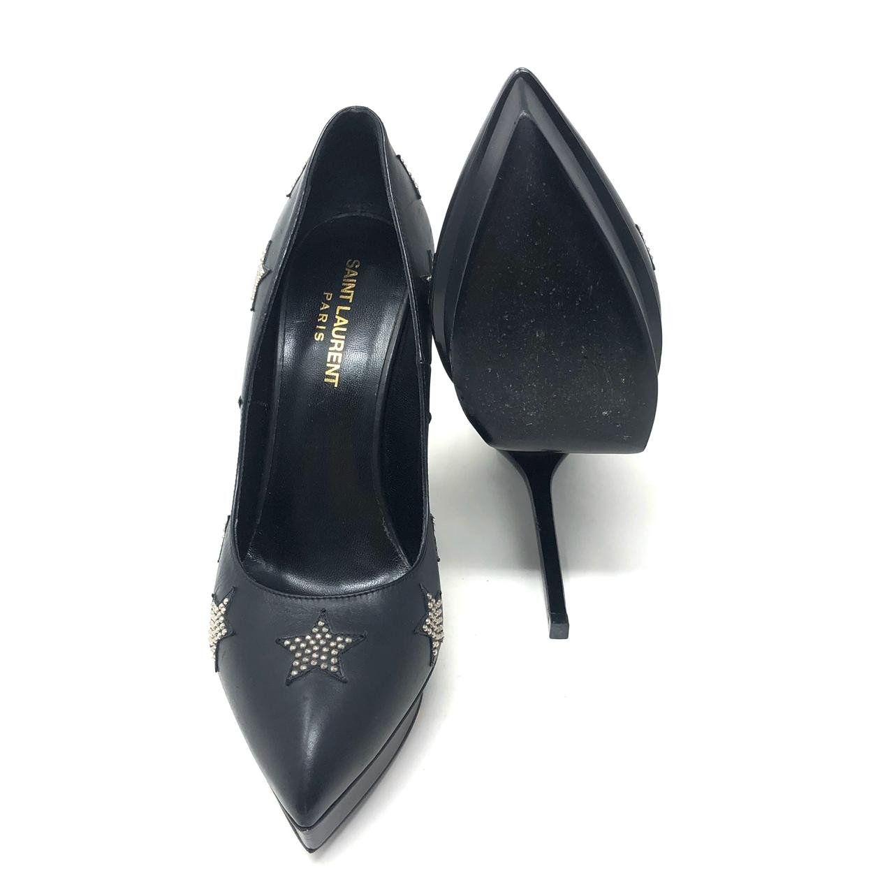 Pumps Saint Laurent Paris Star T.38.5