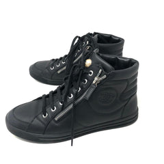 Tenis Chanel High Top T.38.5