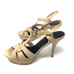 Sandalias Saint Laurent Tribute T.38.5
