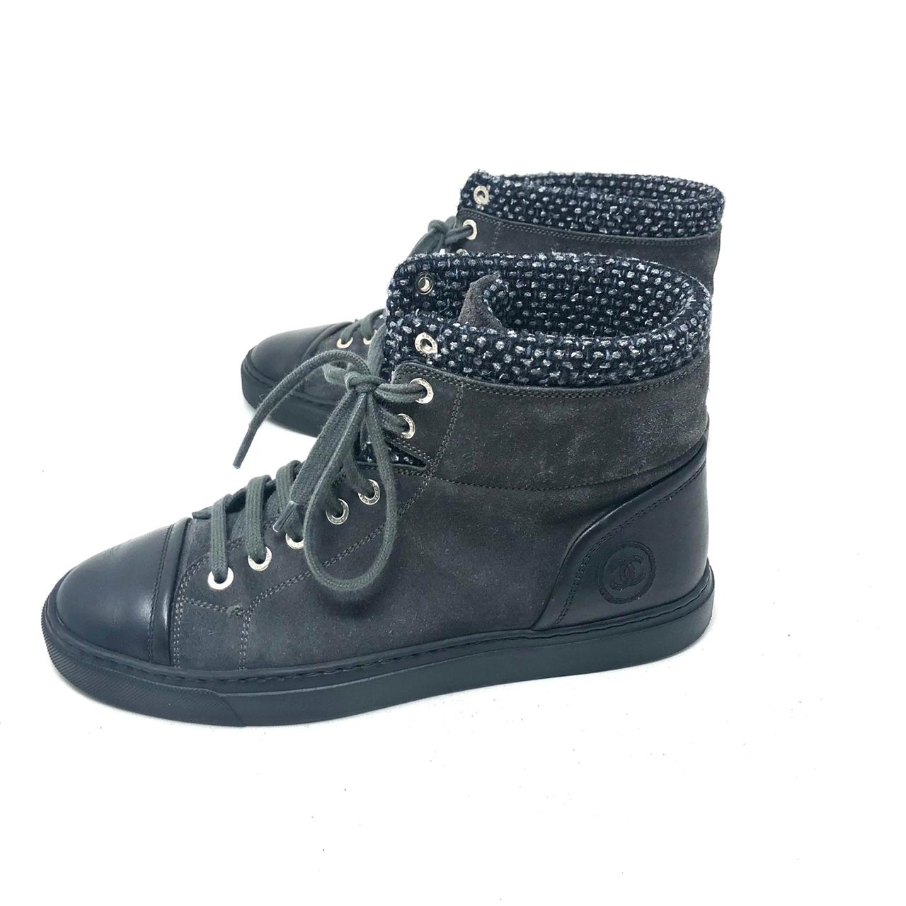 Tenis Chanel High Top T.38