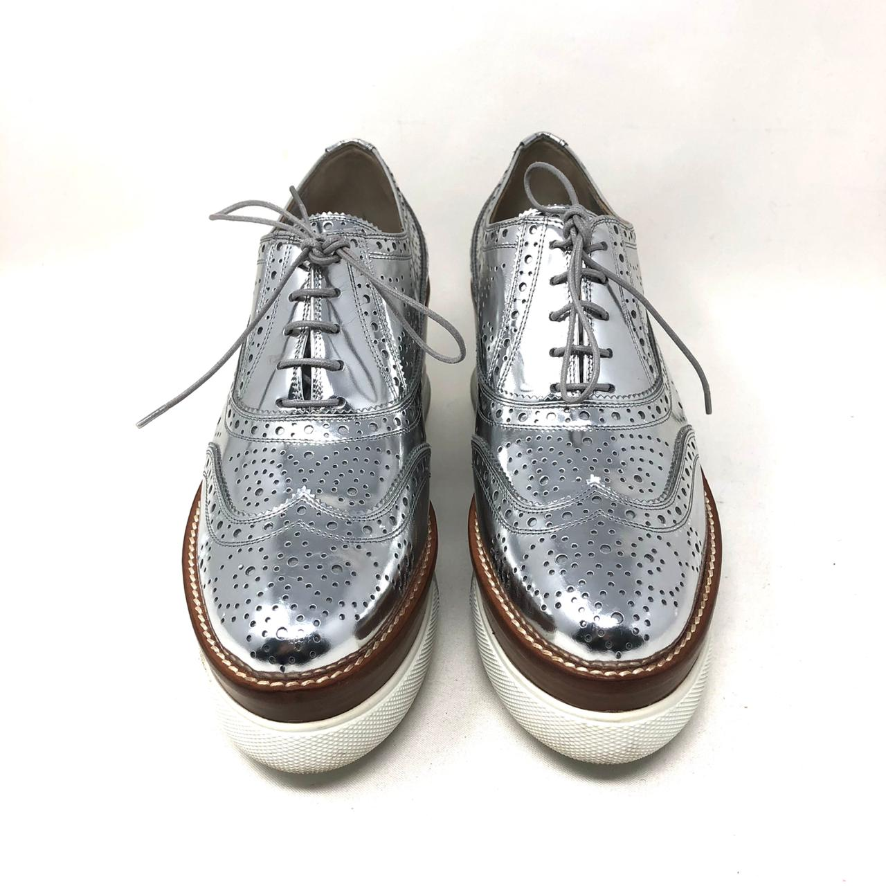 Zapatos Miu Miu Oxford T.39.5