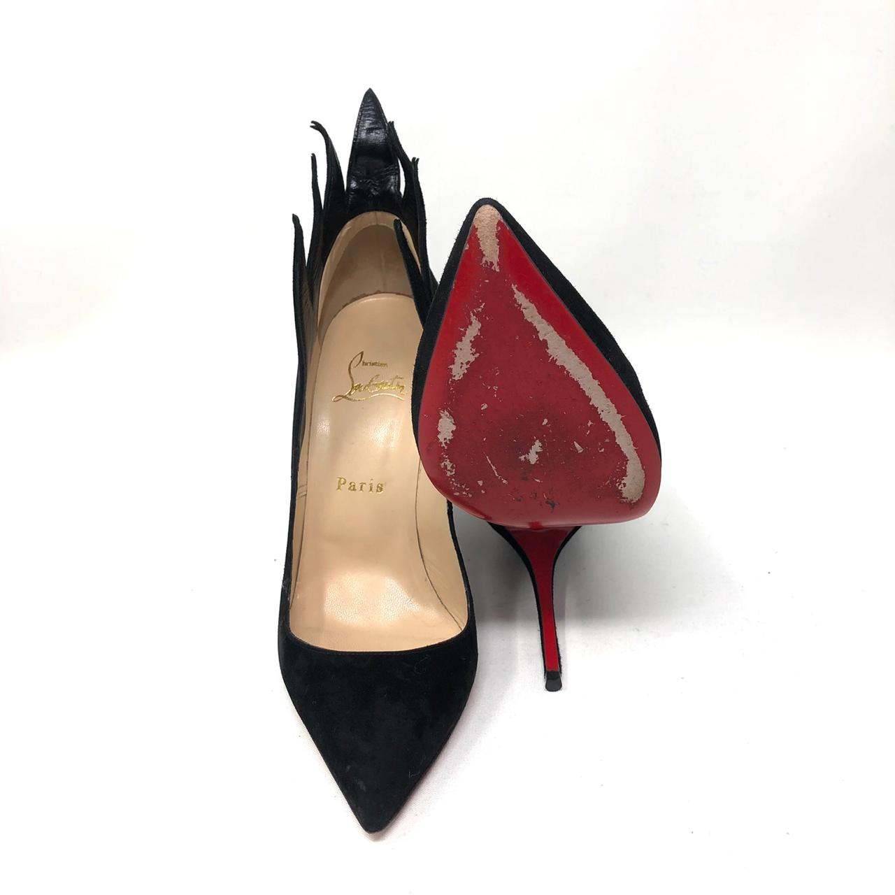 Pumps Christian Louboutin Victorina Flame T.37.5