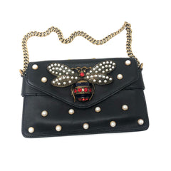 Bolsa Gucci Queen Margaret Bee Pearl