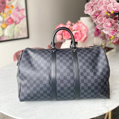 Maleta Keepall Monogram Eclipse 45cm