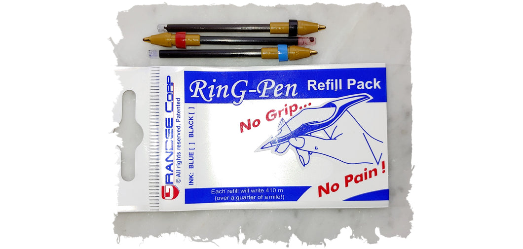 Classic Ring Pen Multi-Color Refill Pack