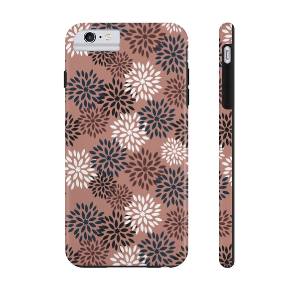 Phone Case - Autumn Pom Pom Old Rose
