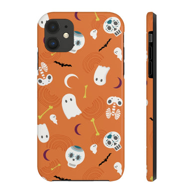Phone Case - Party of the Dead Orange Ochre