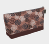 Bora Bora Clutch Wristlet - Autumn Pom Poms Old Rose