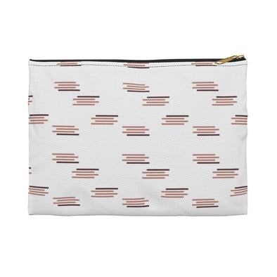 Hudson Zipper Pouch - Paintbrush Old Rose
