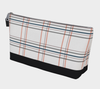 Bora Bora Clutch Wristlet - Window Seat Plaid Black Beauty