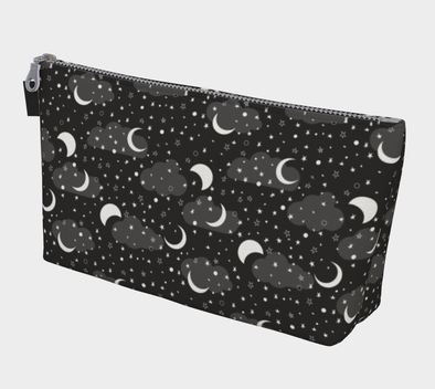 Bora Bora Clutch Wristlet - Midnight Moon Jet Night