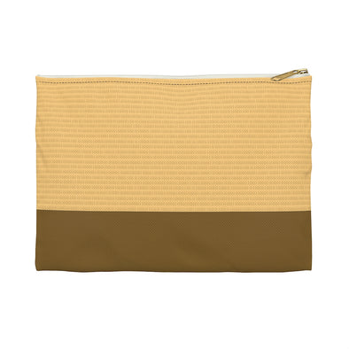 Hudson Zipper Pouch - Tracks Yellow