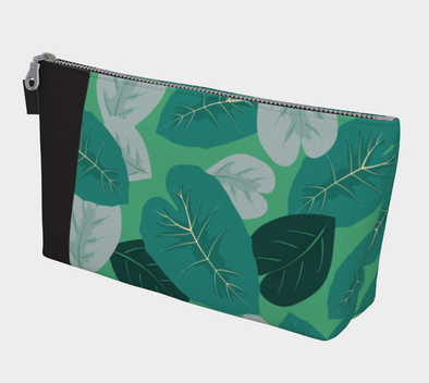 Bora Bora Clutch Wristlet - Elephant Leaves Green