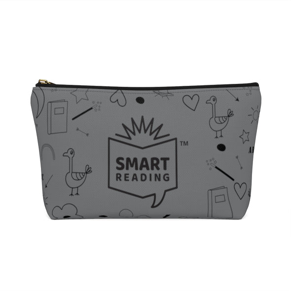 SMART Reader Gray Accessory Pouch w T-bottom