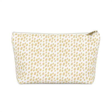 Bali Pouch w T-bottom - Sunlight Dots