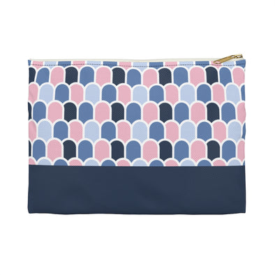 Beach Waves Pink Pampas/Deep Sea | Hudson Pouch