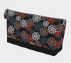 Bora Bora Clutch Wristlet - Autumn Pom Poms Black Beauty