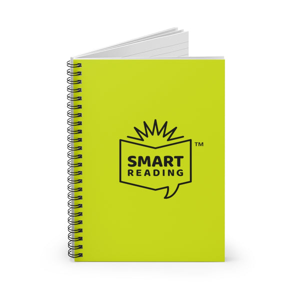 SMART Logo Green Spiral Notebook - Ruled Line