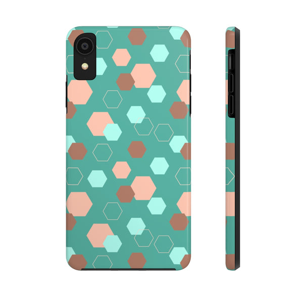 Phone Case - Hexagon Teal