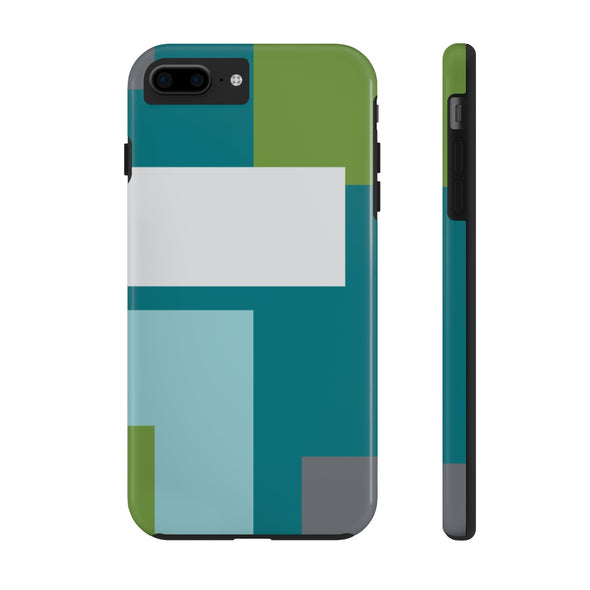 Phone Case - Color Block Teal