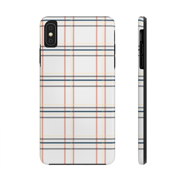 Phone Case - Window Seat Plaid Real Teal