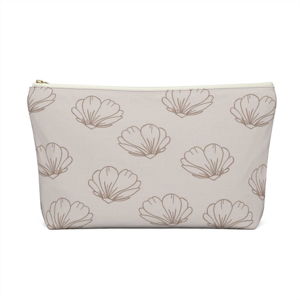 CASA Dancing Floral Accessory Pouch w T-bottom