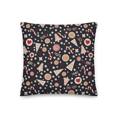 Christmas Cookies Pink - Throw Pillow