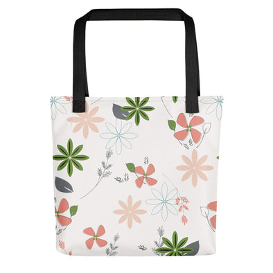 Camden Tote bag - African Floral Pink