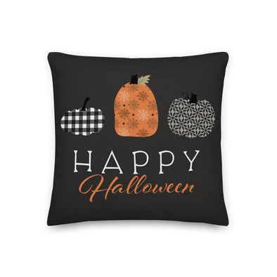 Halloween Pumpkin - Throw Pillow