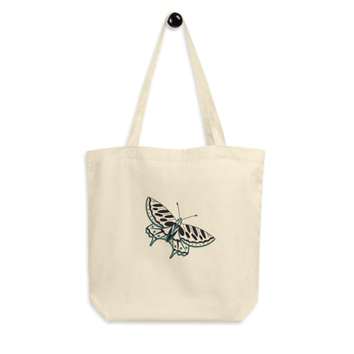 Hanauma Eco Tote Bag - Butterfly Teal