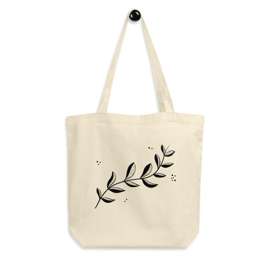 Hanauma Eco Tote Bag - Branches Black