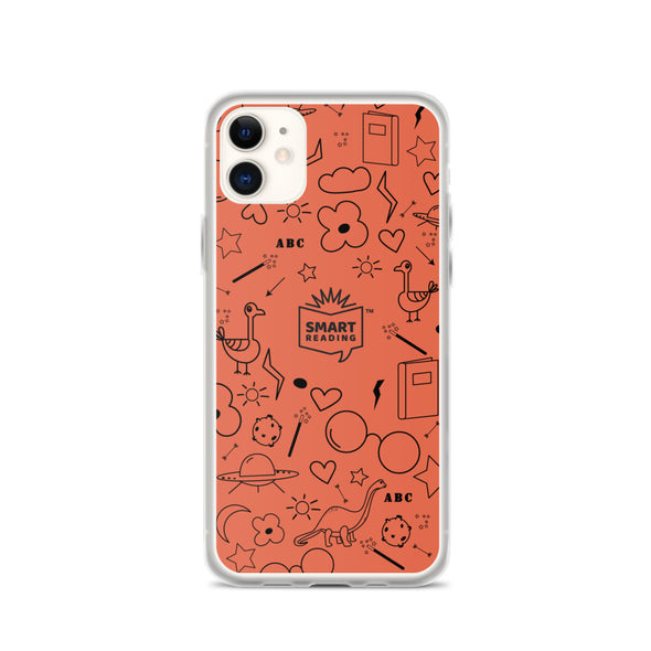 SMART Reader Orange iPhone Case