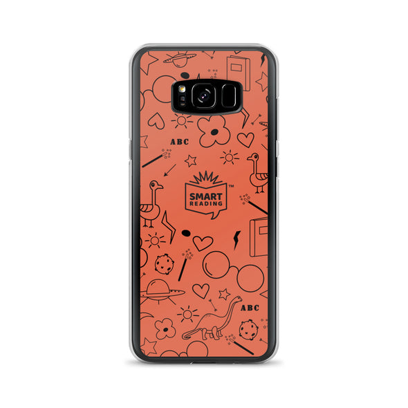 SMART Reader Orange Samsung Case