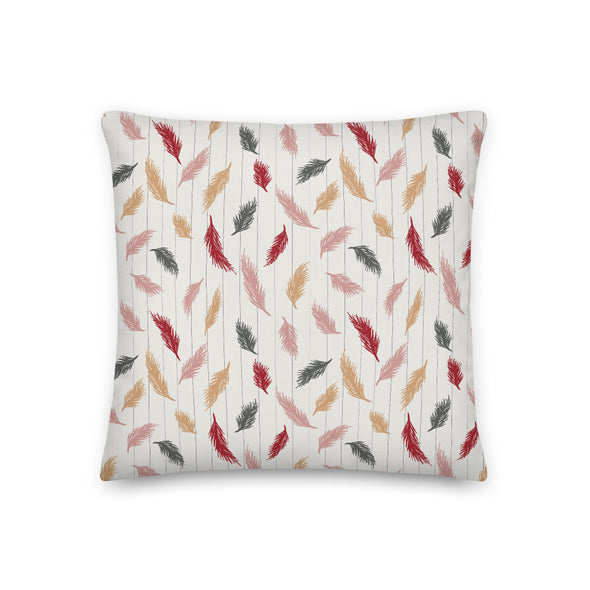 Soft Pines Samba Rosetan - Throw Pillow