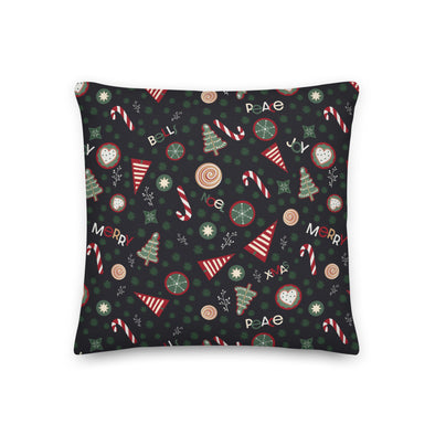 CHristmas Cookies Green - Throw Pillow