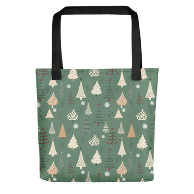 Christmas Forest Green - Camden Tote