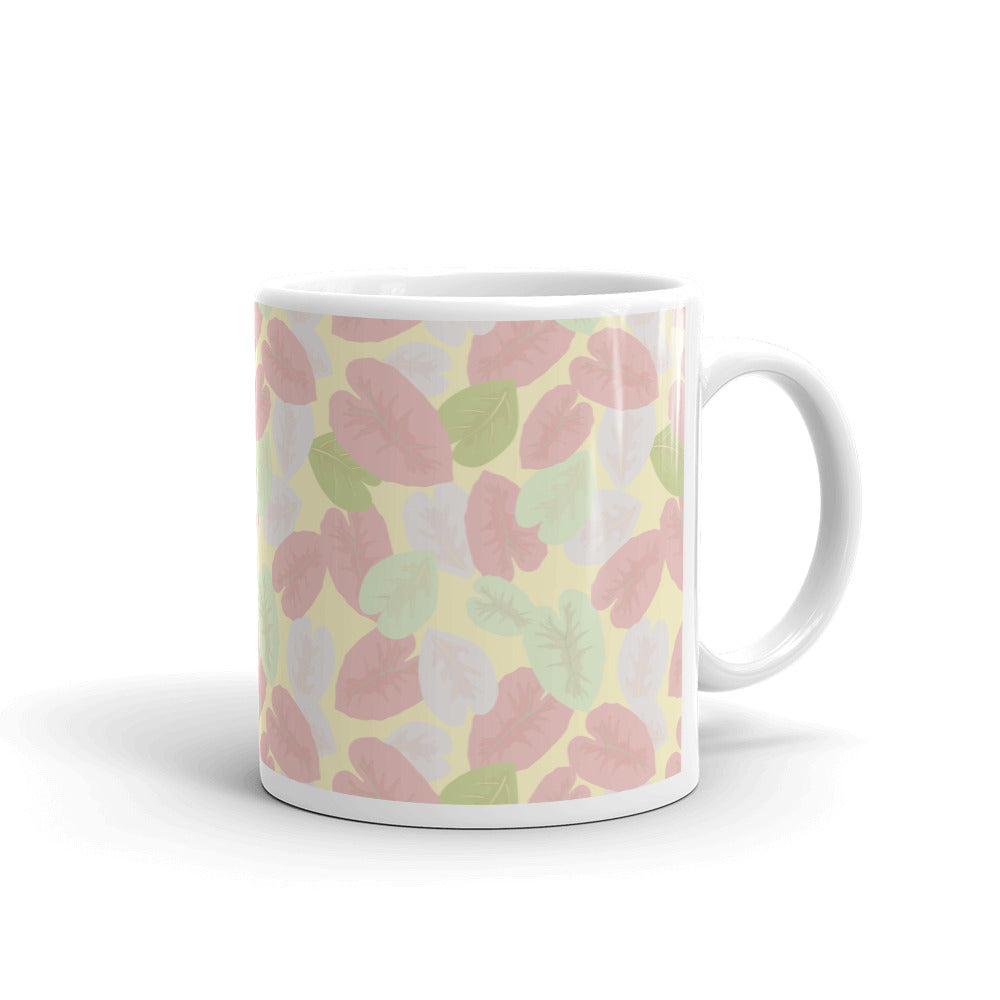 Hot Toddy Mug - Elephant Leaves Pink