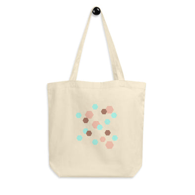 Hanauma Eco Tote Bag - Hexagon Pink