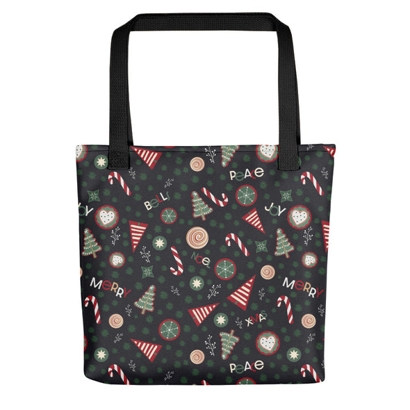Christmas Cookies Green - Camden Tote