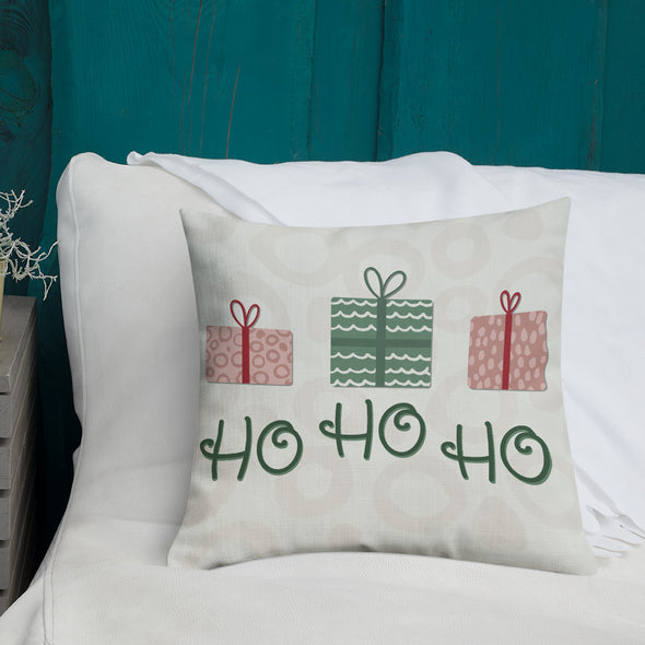 Santa's Coming - Throw Pillow