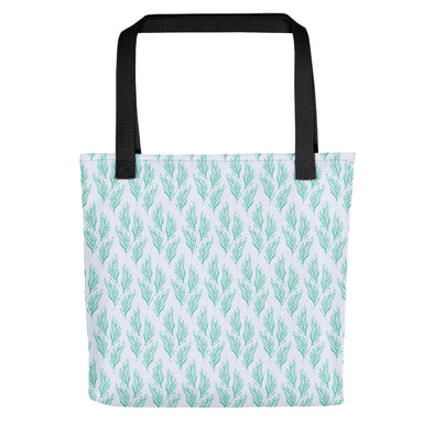Camden Tote bag  - Lovely Leaves Biscay Green